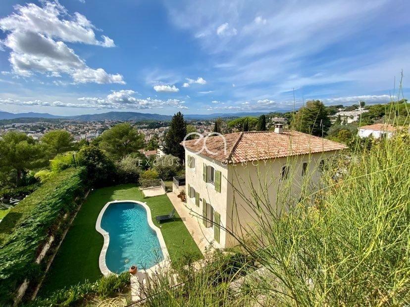 Le Cannet Californie location meublée villa 6 Chambres 370m².