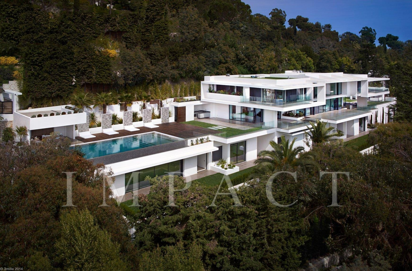 CANNES CALIFORNIE - EXCEPTIONAL CONTEMPORARY PROPERTY- SOMPTUOUS SEA VIEW-
