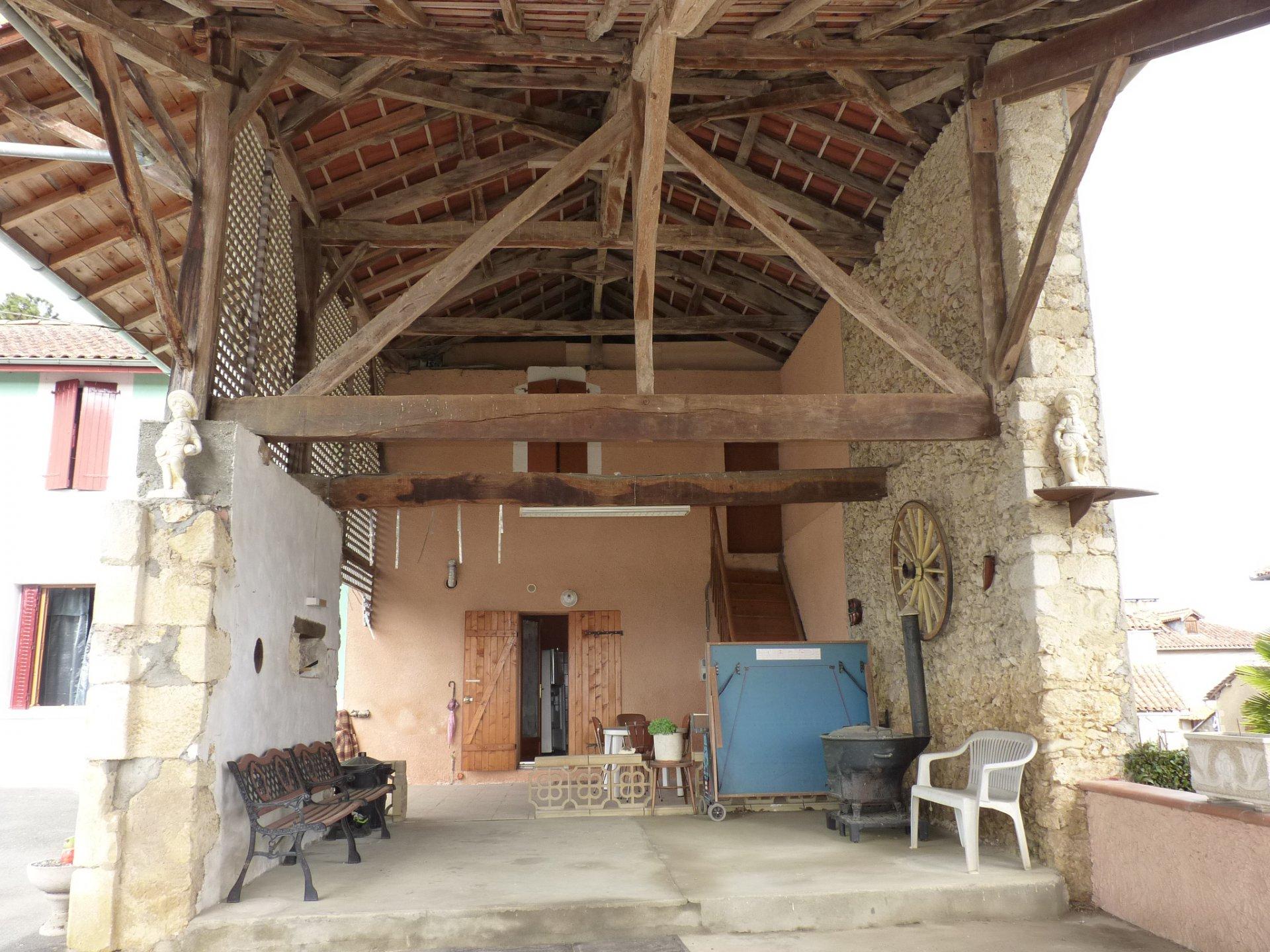 Grande maison familiale sur 8637 m² vue Pyrénées proche de Blajan