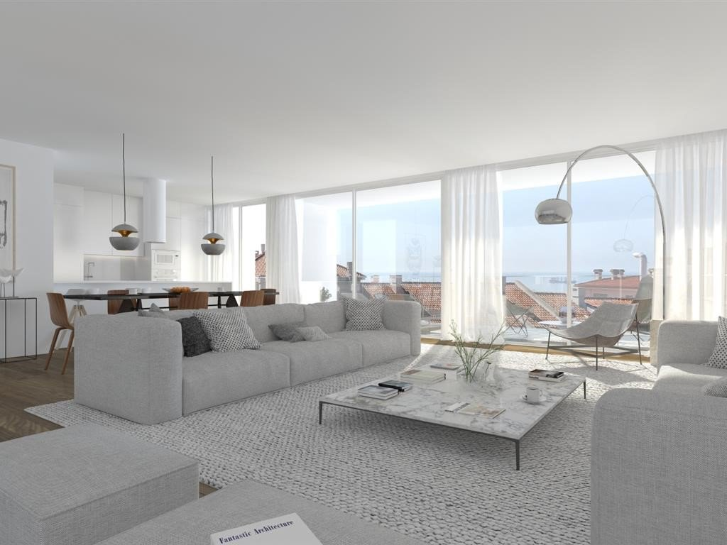 New apartment of 173 m² in Estoril in an exceptional location