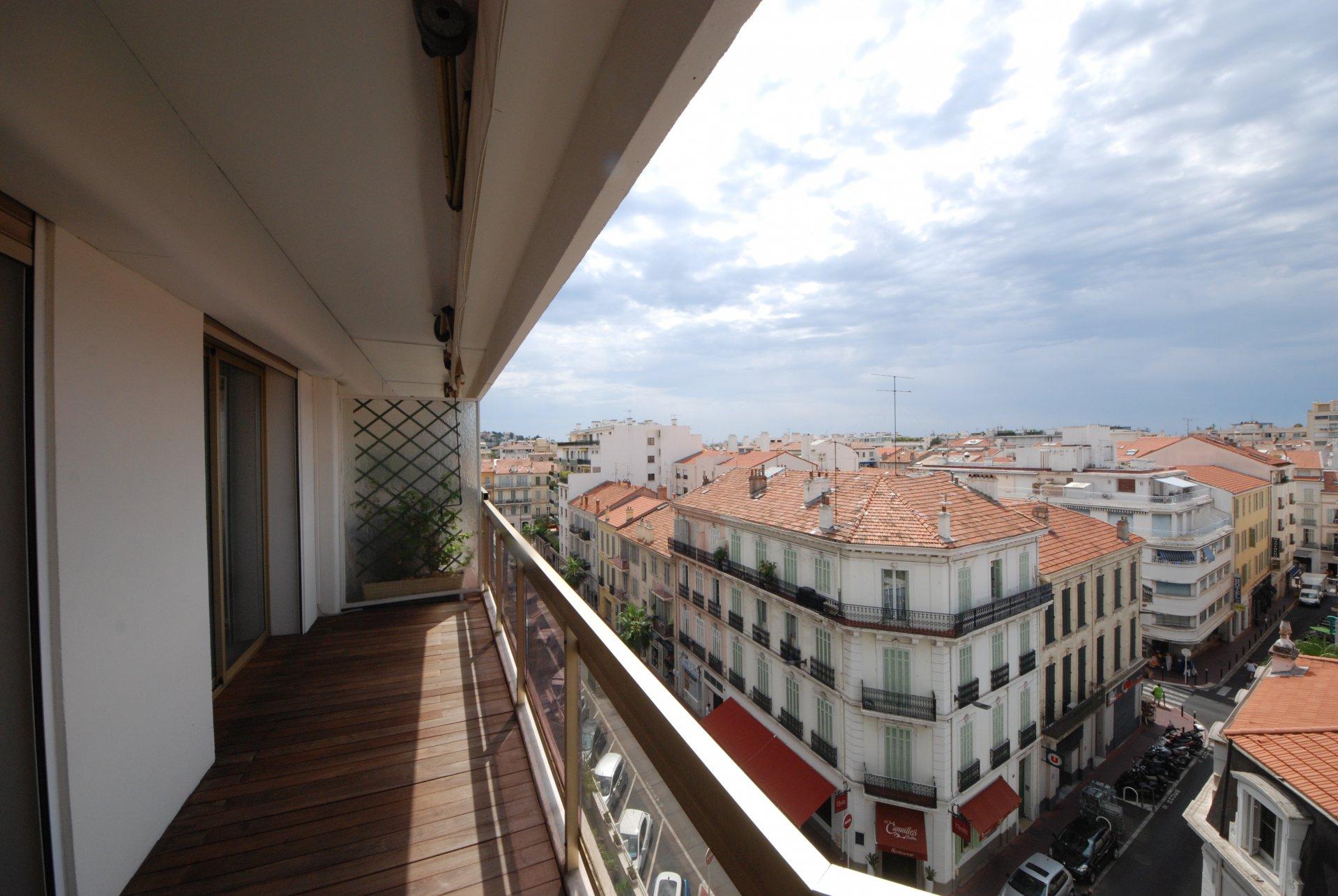 location congrès 2 pièces au centre de Cannes