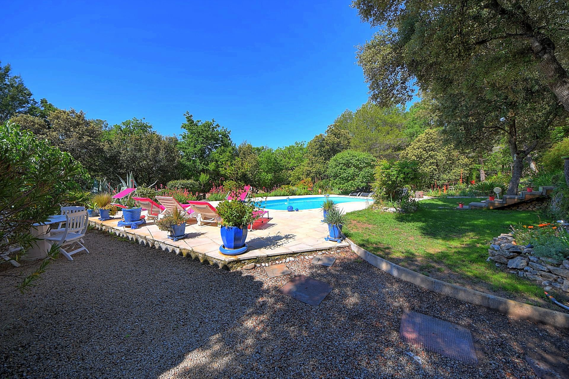 Superb provencale house with pool - near Aups - Var Provence