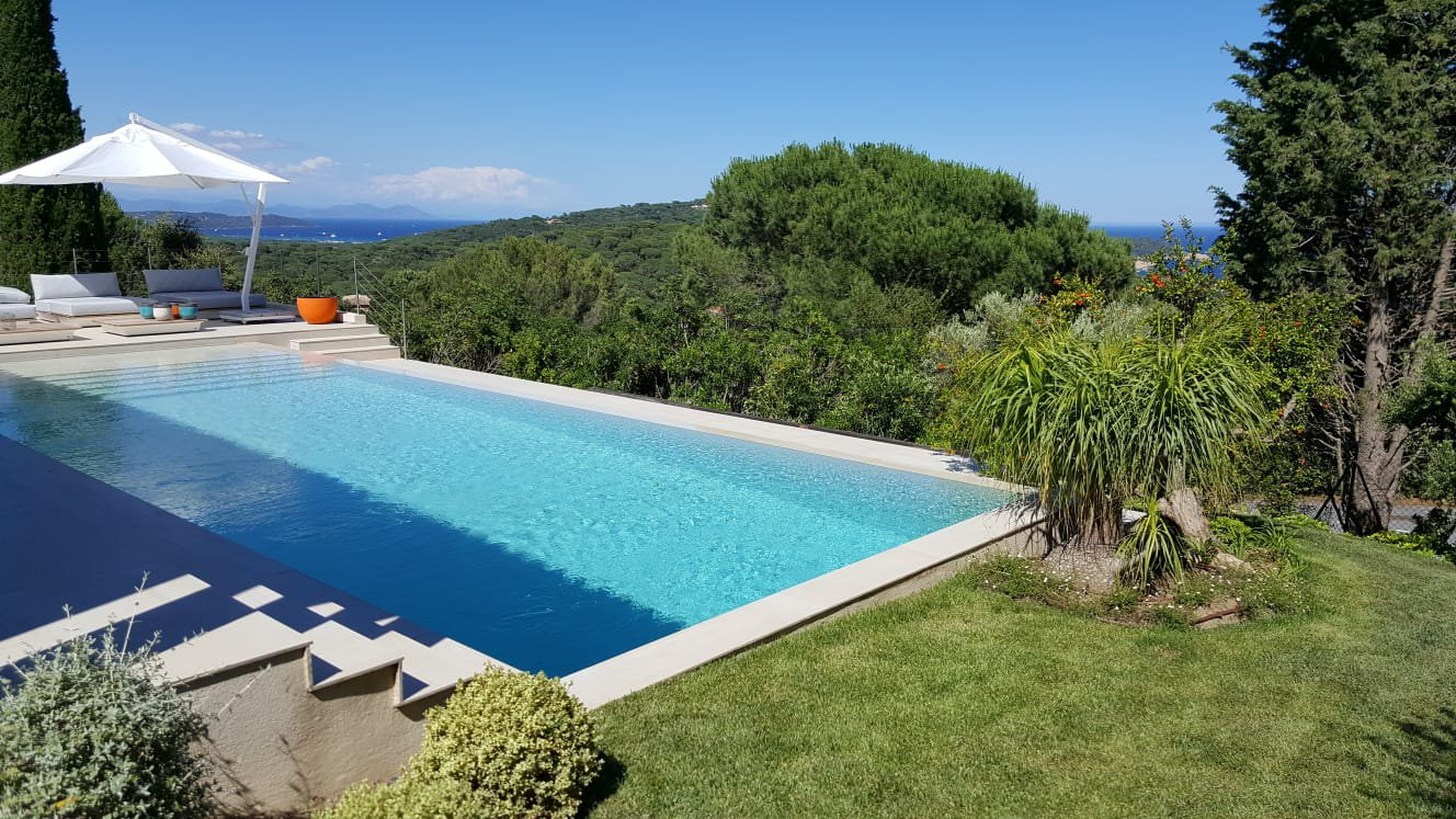 holiday rental Ramatuelle house swimming pool sea view