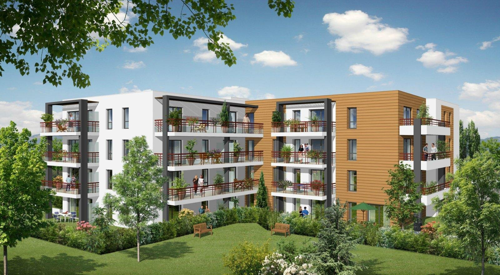 SORBIERS - Appartement T2 normes BBC