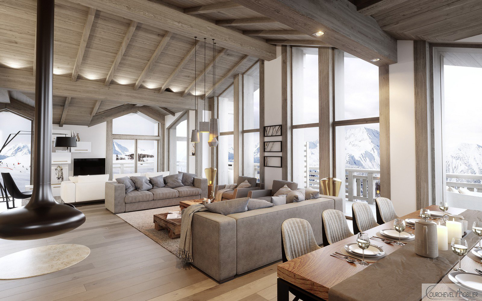 Nieuwbouw Chalet - Courchevel Moriond 1650
