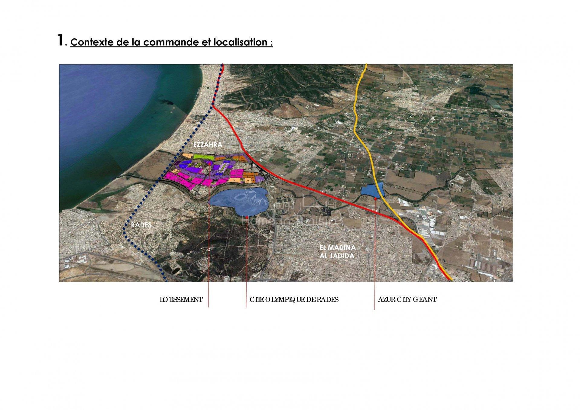 Terrain constructible - Ezzahra