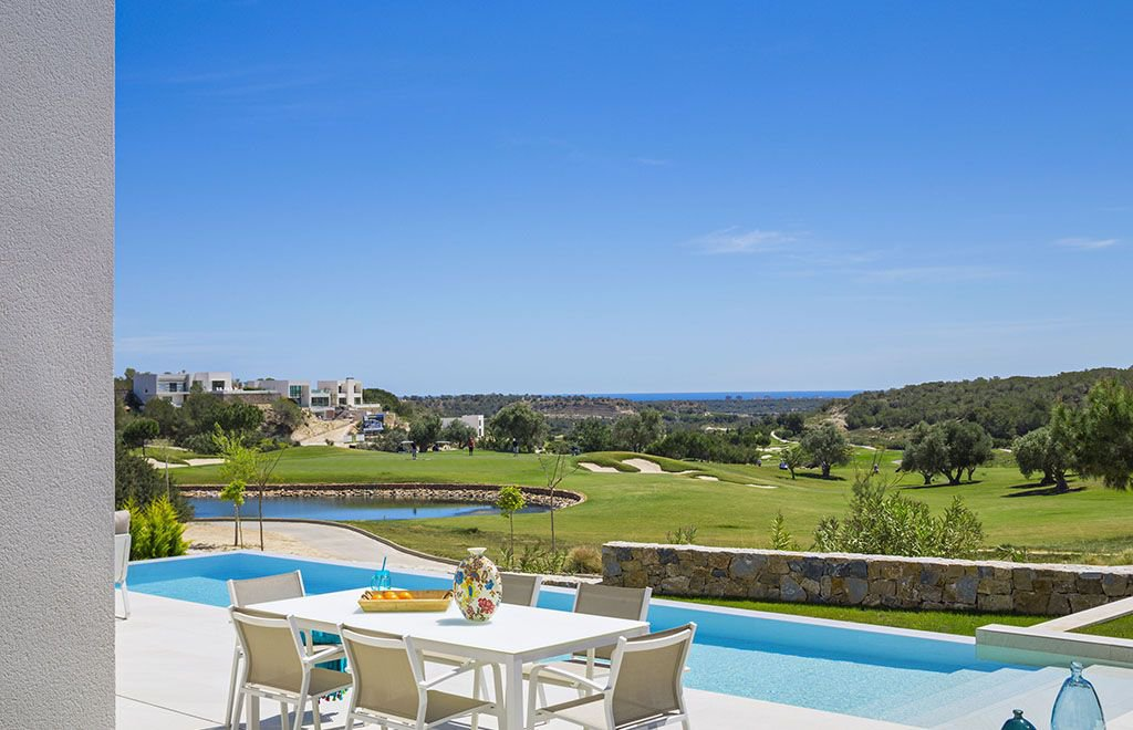 Luxury Villa First Line Golf View Sea