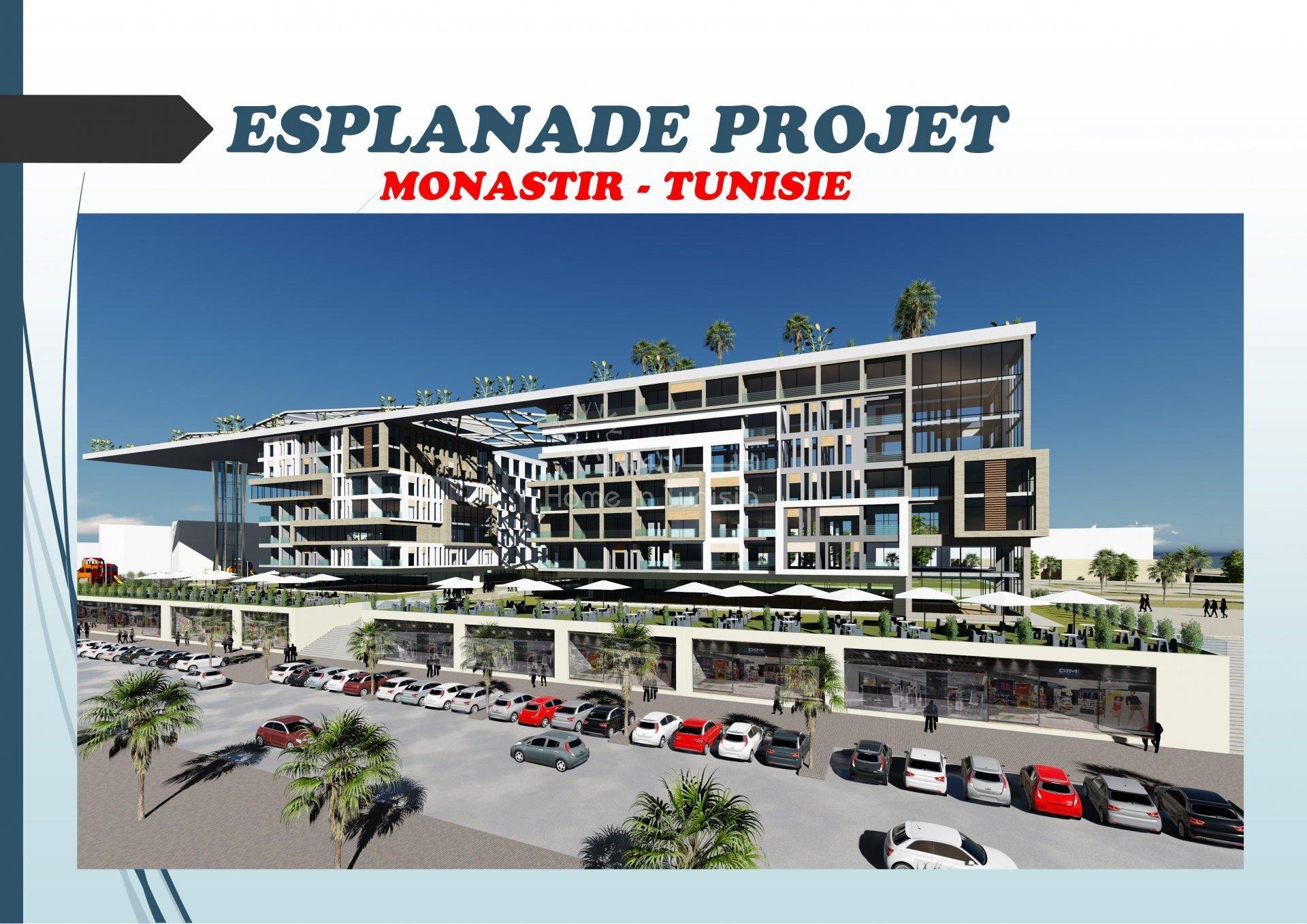 Terrain constructible R+8 Monastir