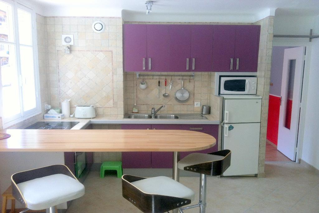 location Nice, 2 pièces meublé 41.82m² secteur Riquier