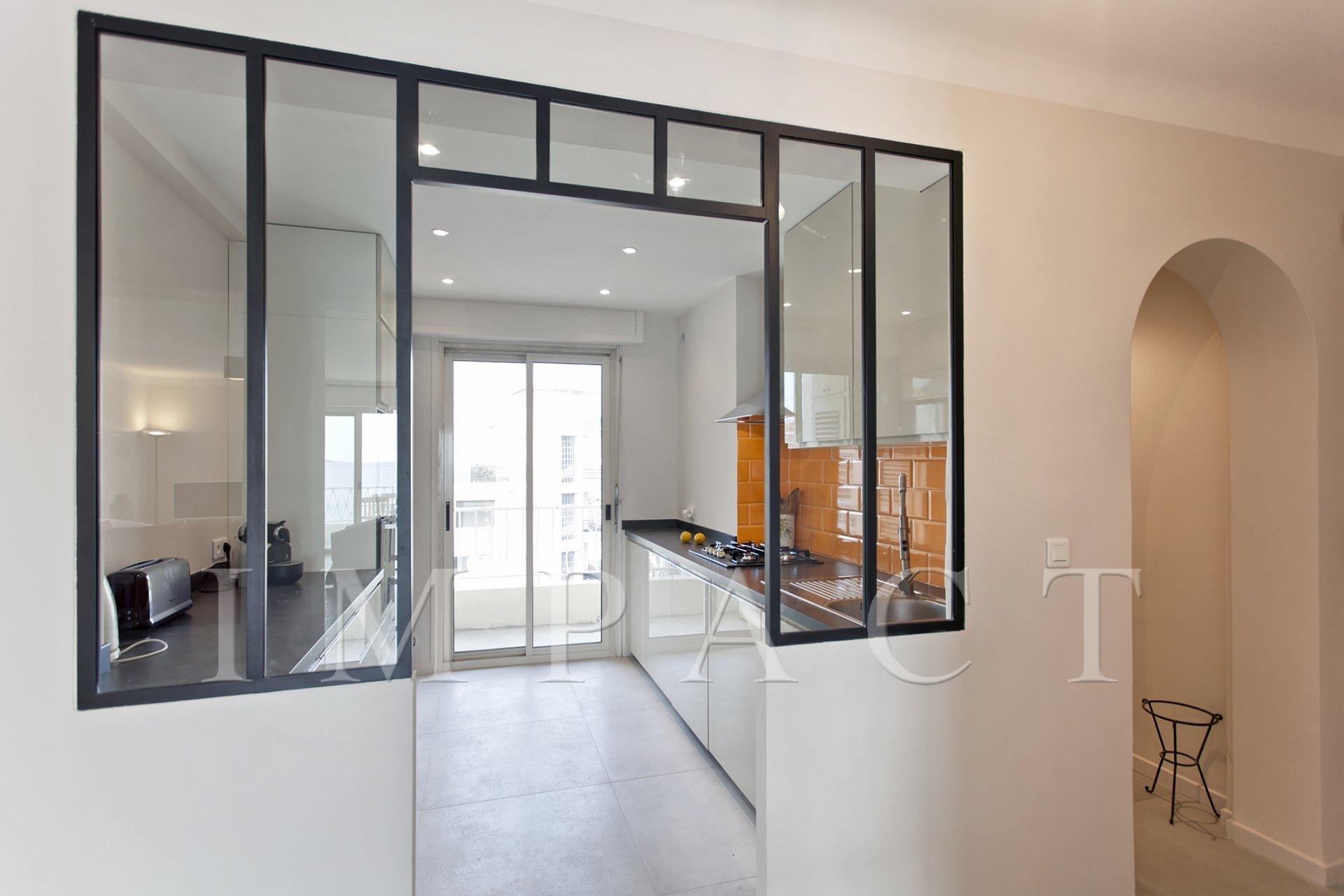 Appartement 3 chambres, vue mer à louer à Cannes