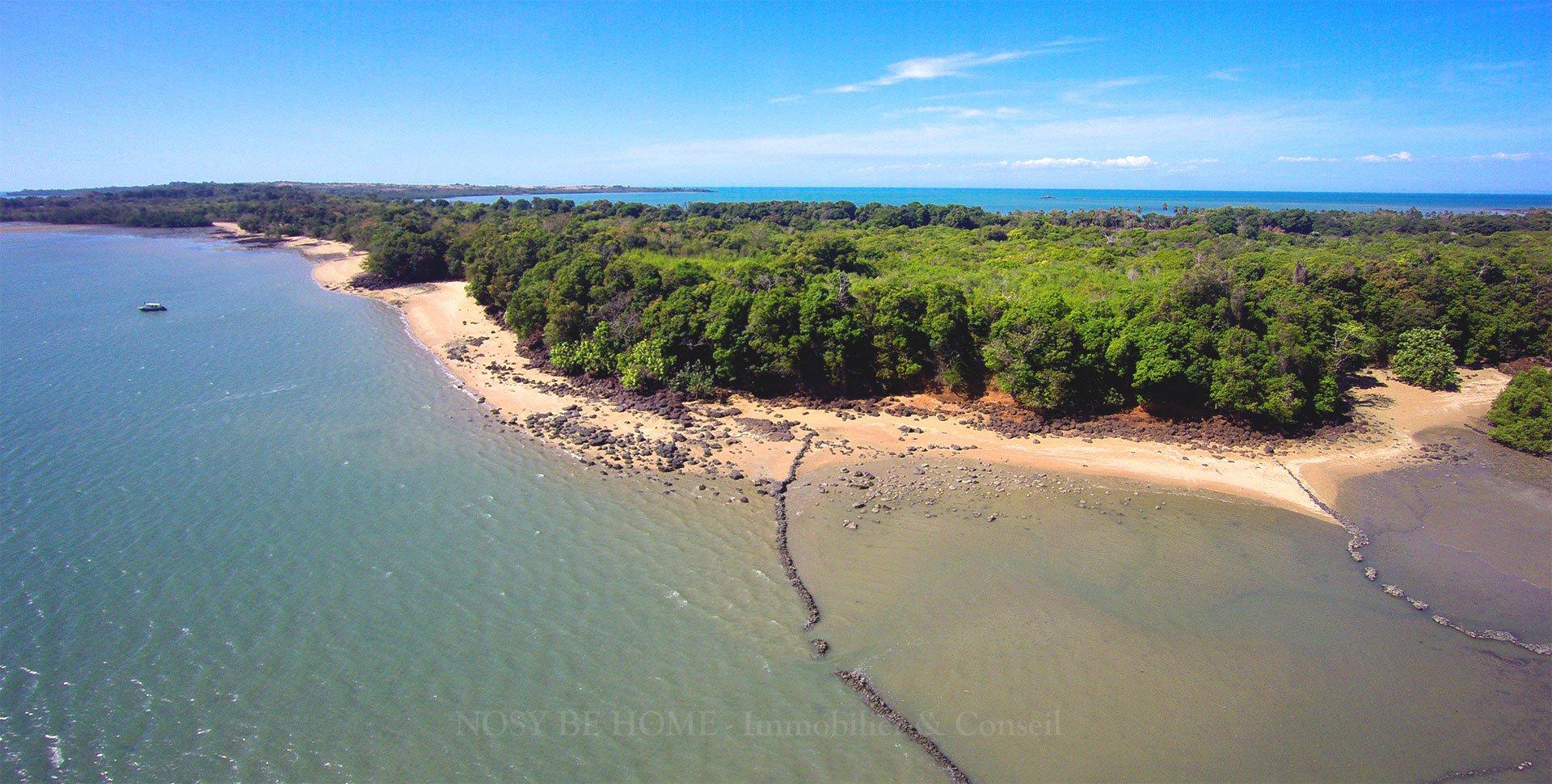Sale Building land - Nosy Faly - Madagascar