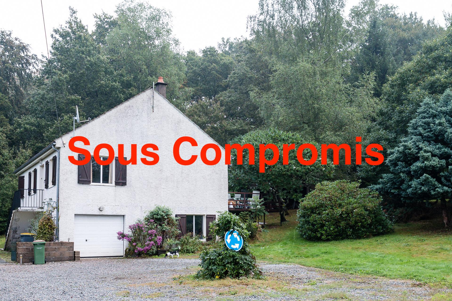 Haus mit schönem Garten zum verkauf in Arleuf im Morvan