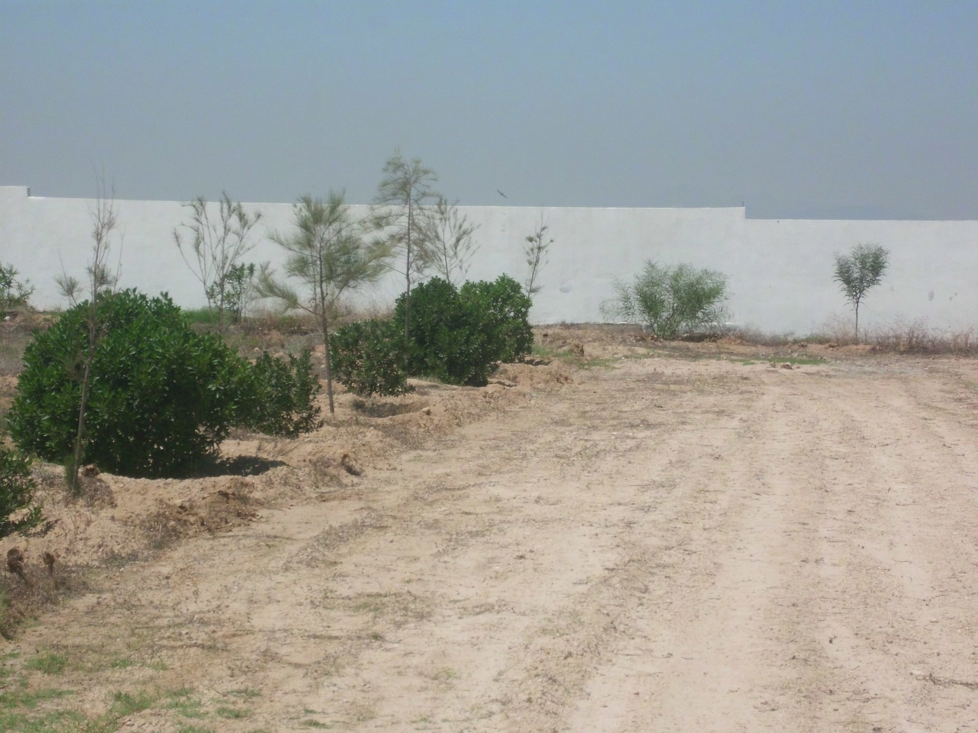 Terrain aménagé  de 657 m²