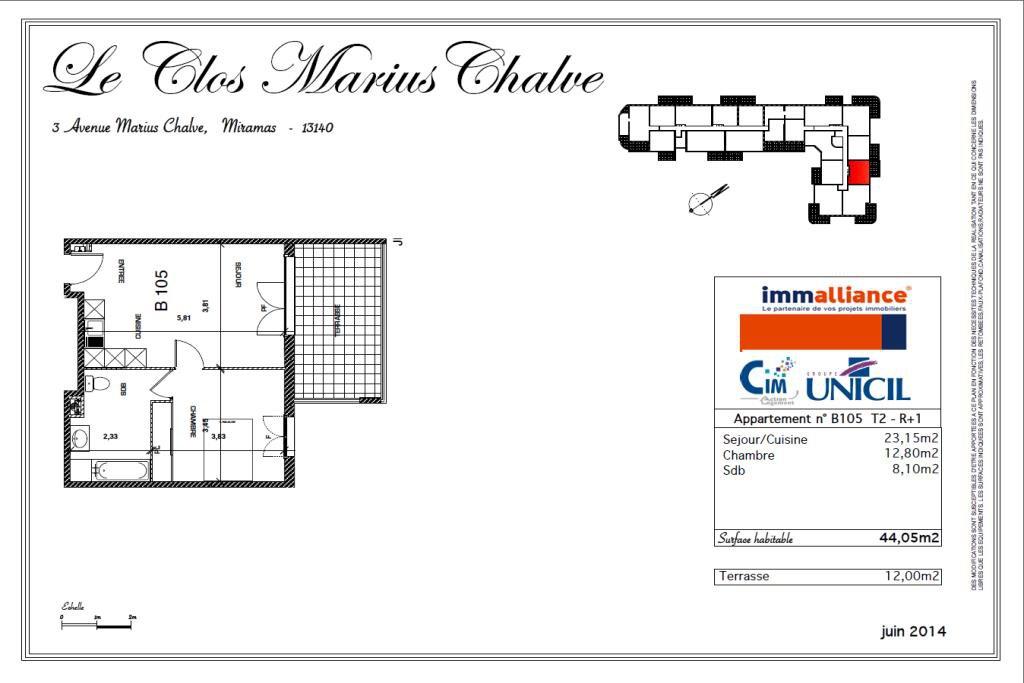 Location Appartement - Miramas