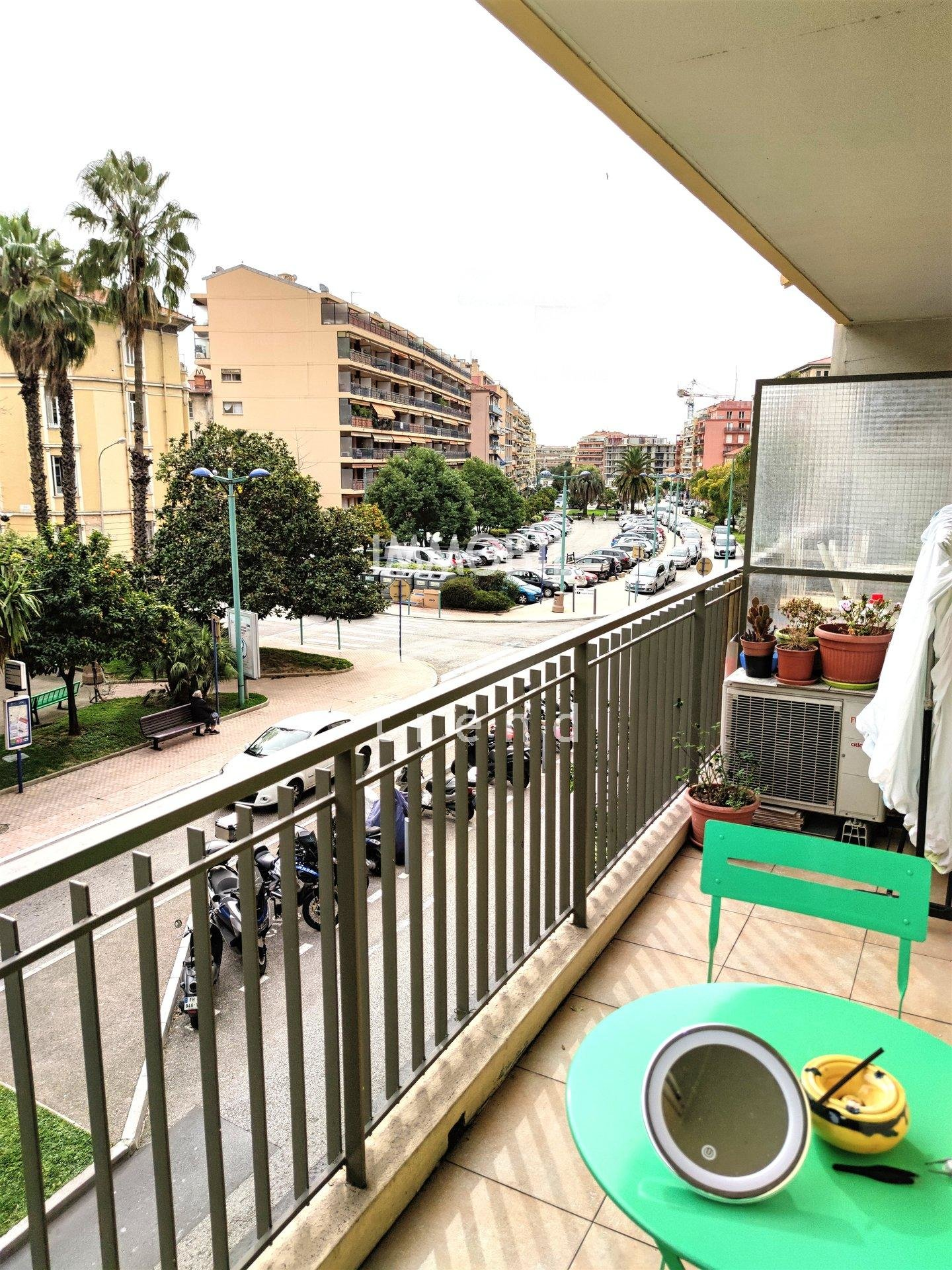 For sale, Spacious One room apartment Menton with terrace