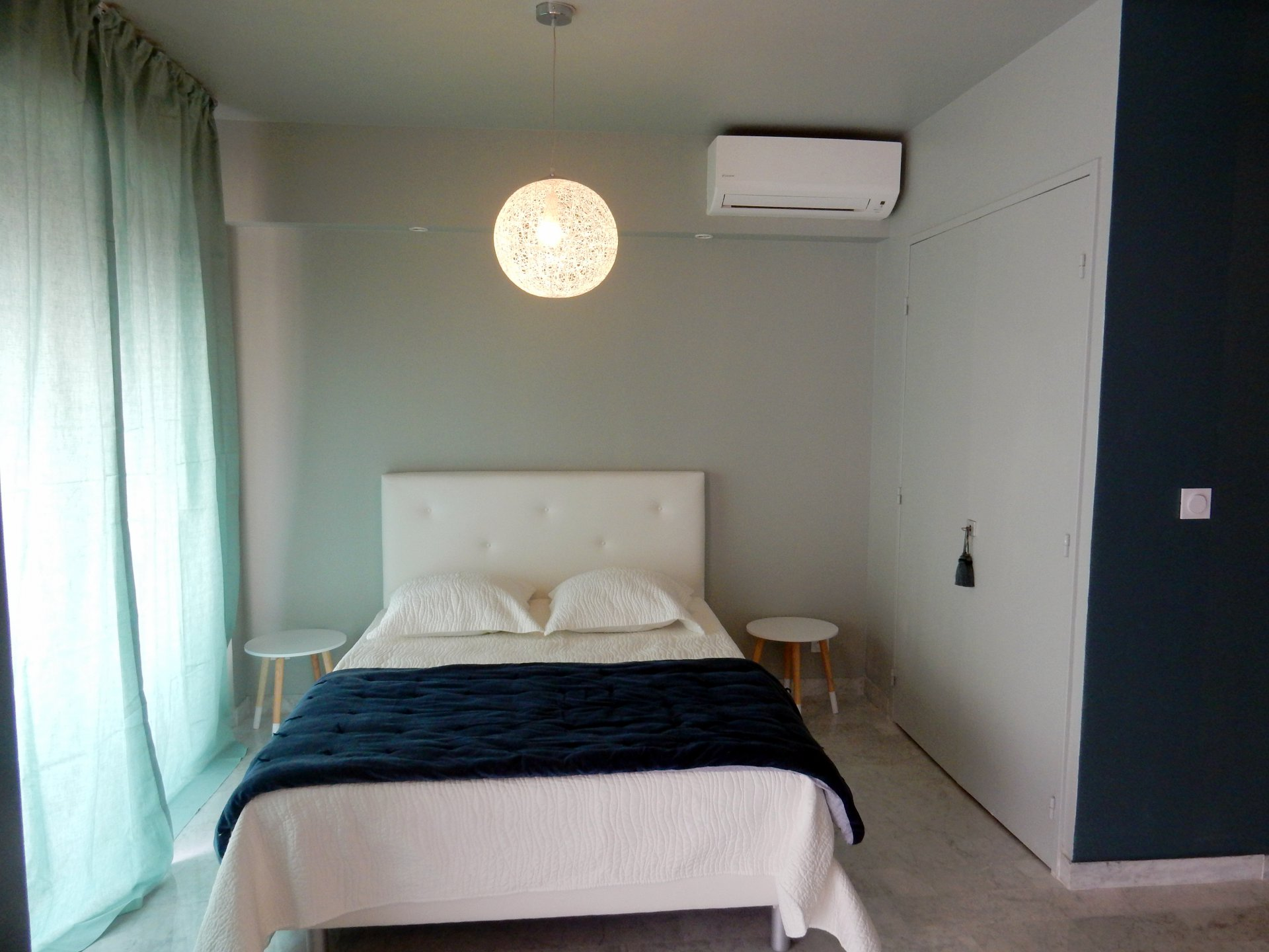 location Nice appartement 2P meublé rénové quartier bas Sainte Marguerite proche promenade