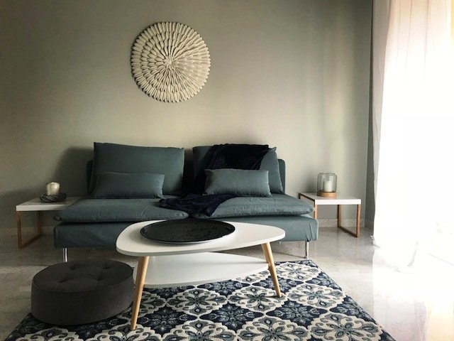 Rent Nice  furnished and renovated  flat of 2 rooms,  Bas Sainte Marguerite close Promenade des Anglais