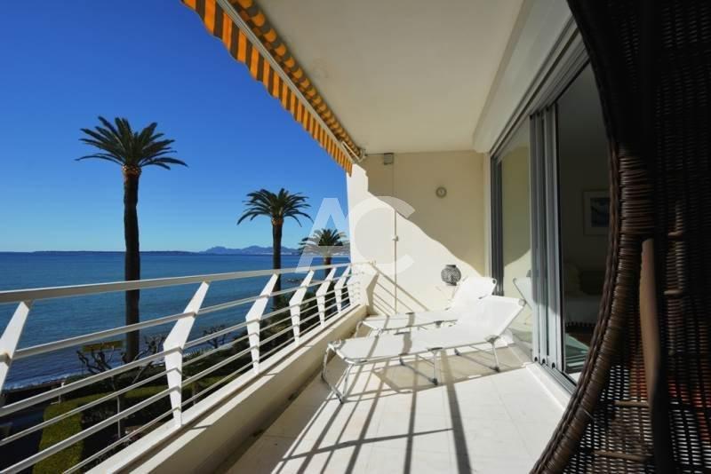 Luxueux 3 pièces - Front de mer - Centre Juan les Pins -Vue mer