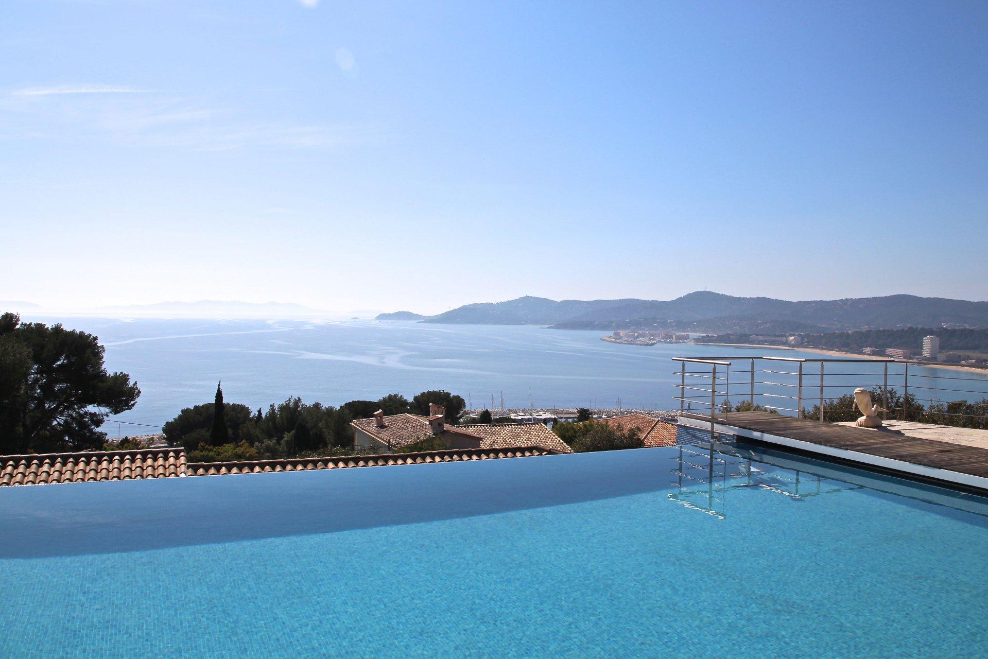 Villa with stunning sea view le Lavandou Var  Provence