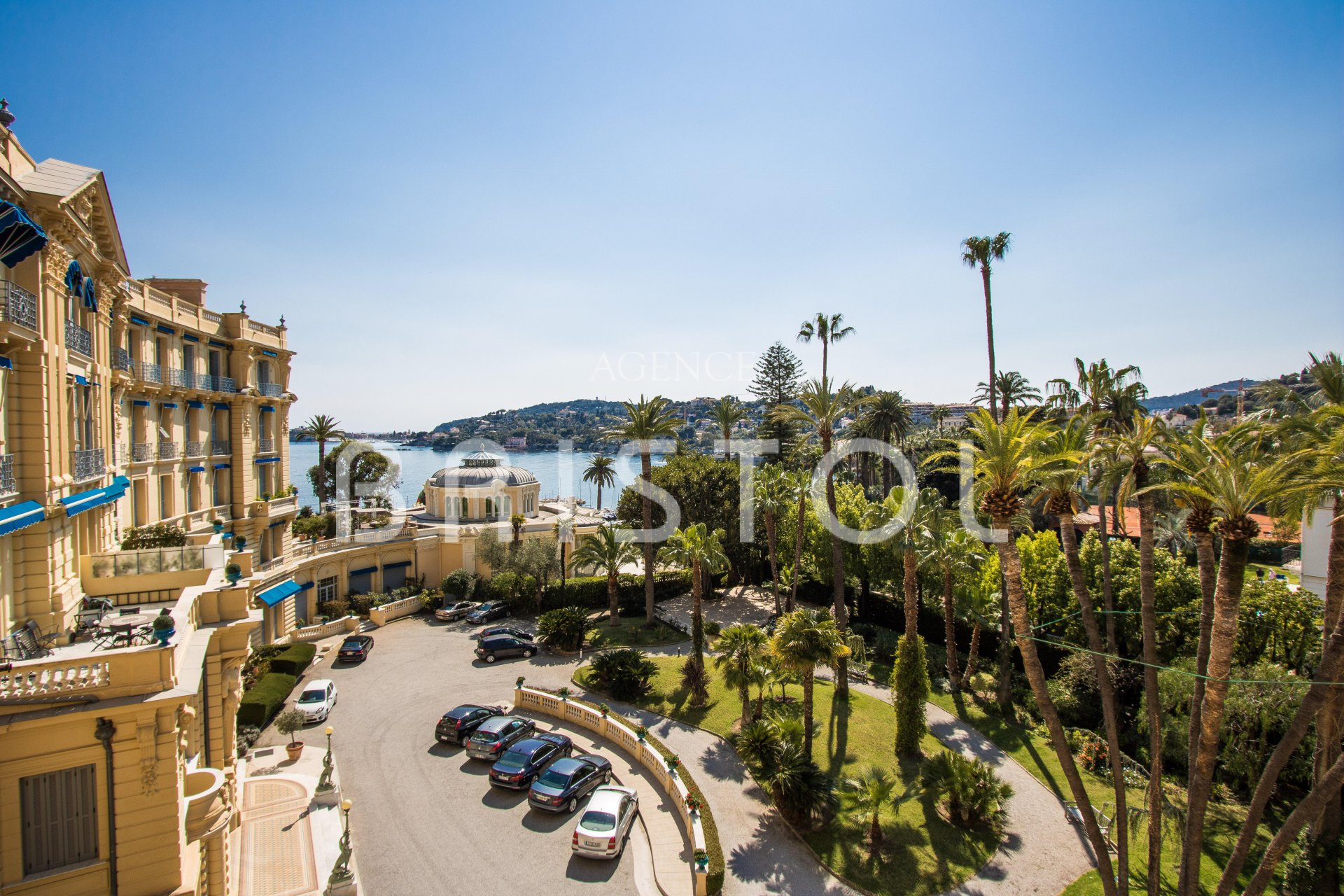 Superb period apartment for sale in Beaulieu sur Mer  with sea view
