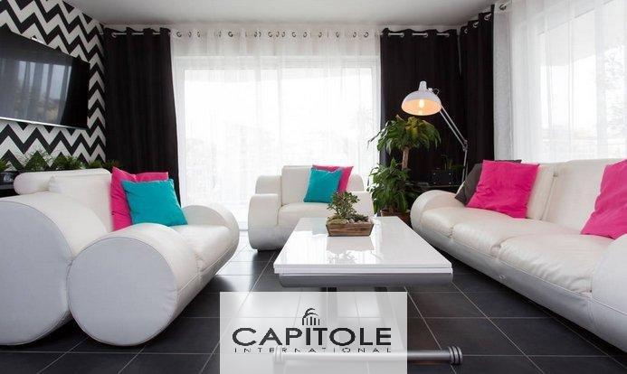 A vendre, Cannes, appartement traversant 4 pièces 85 m²,  2 garages