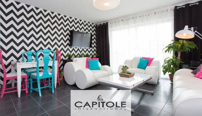 For sale, Cannes, 3 bedrooms apartment  85.36 m², 2 garages