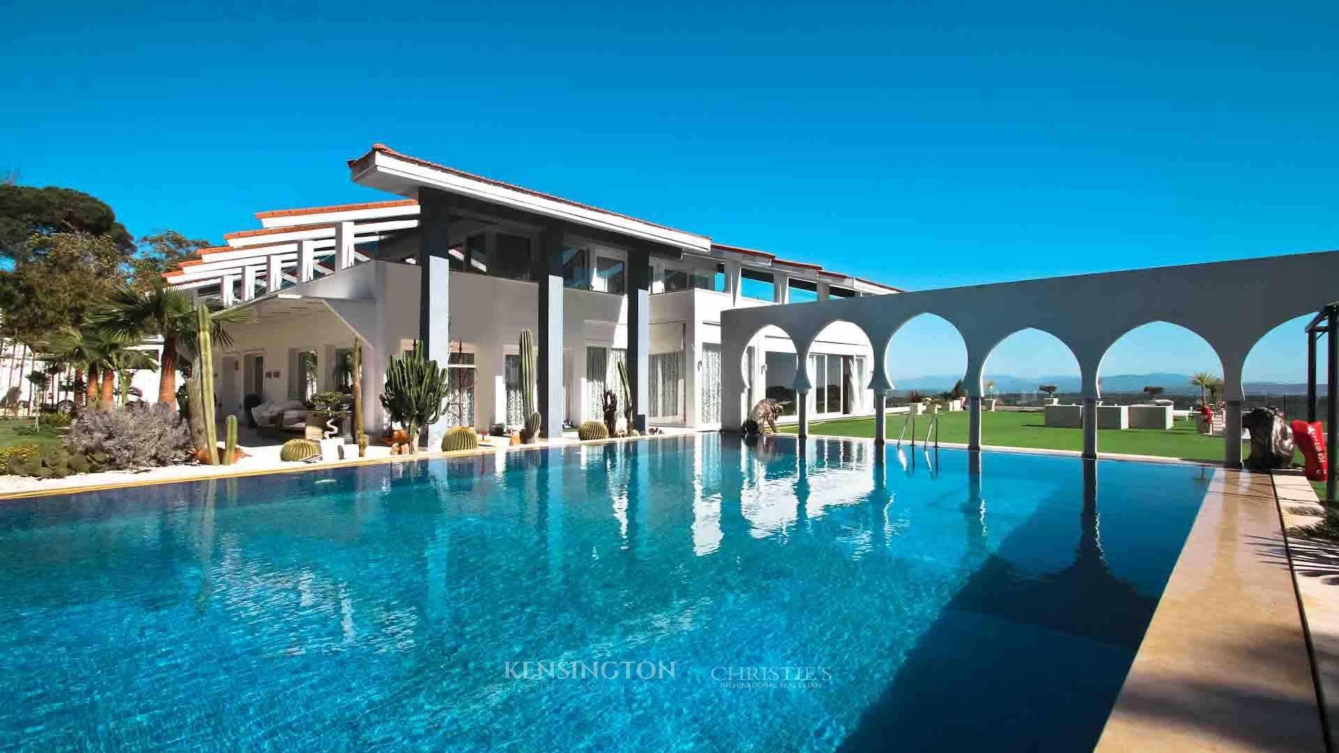 KPPM00999: Villa Rmilat Villa de luxe Tanger Maroc