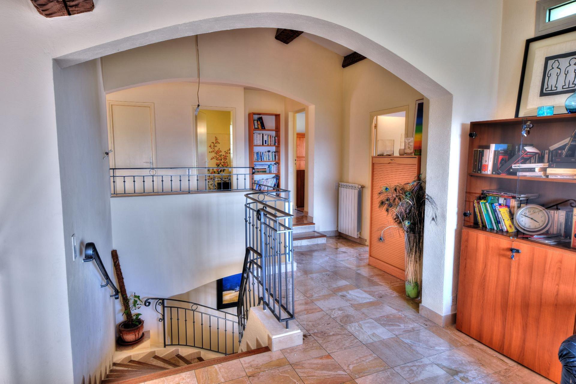 Mezzanine de la villa 328 m² vue panoramique, Draguignan, Var, Provence
