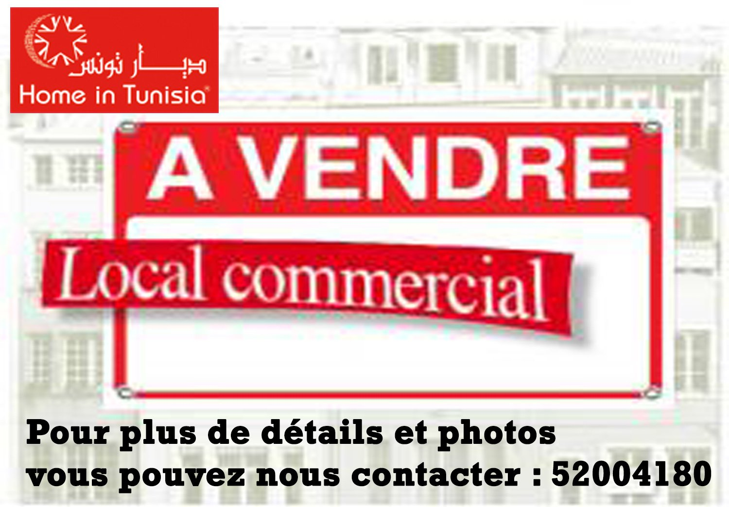 Sale Business assets - Sousse - Tunisia
