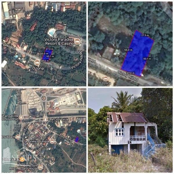 SIHANOUKVILLE  LAND FOR SALE VICTORY HILL