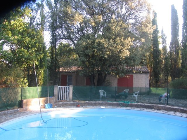 New property 120 m² + guest house 34 m² + pool on 6120 m² of fenced land
