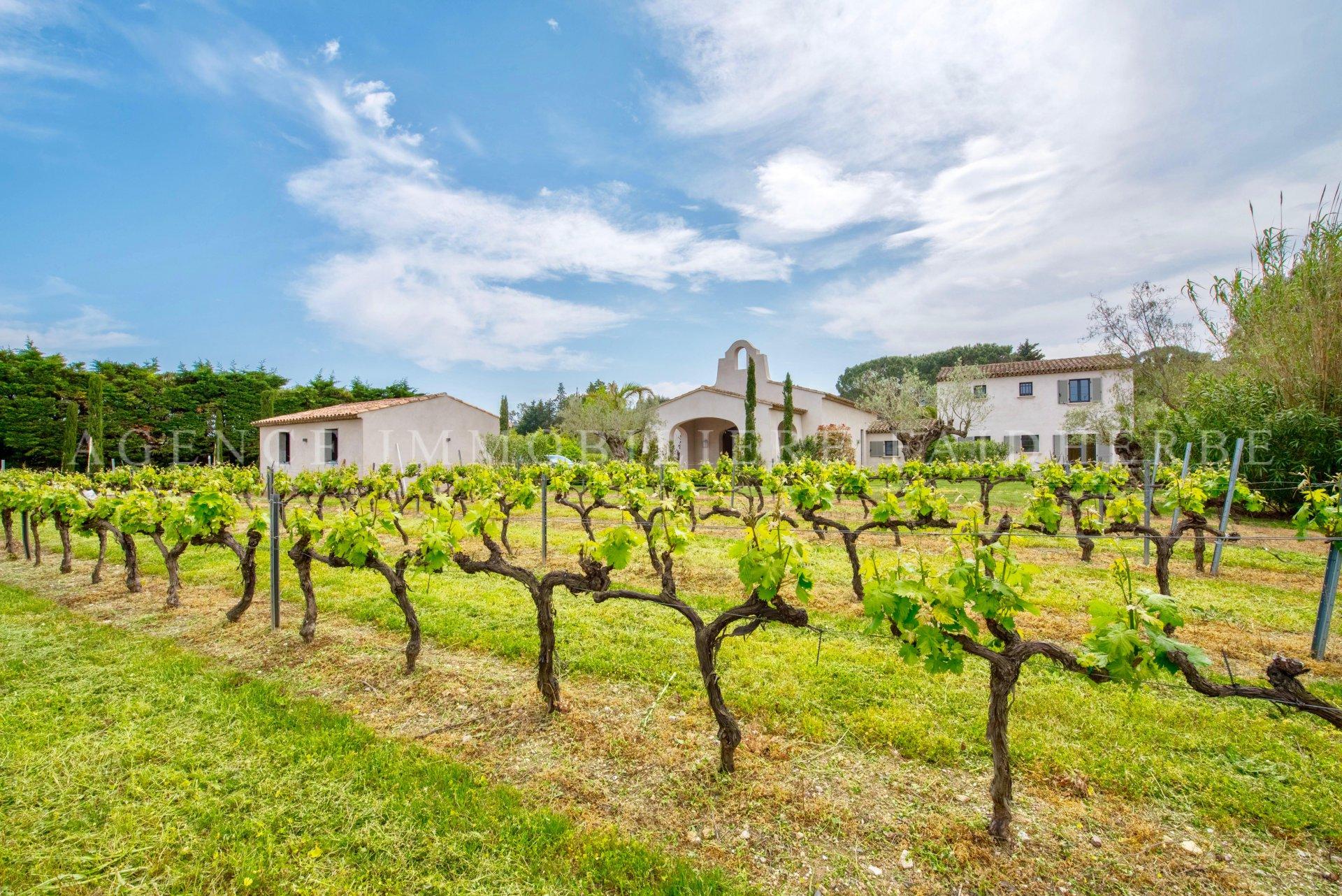 Magnifica villa route des Salins