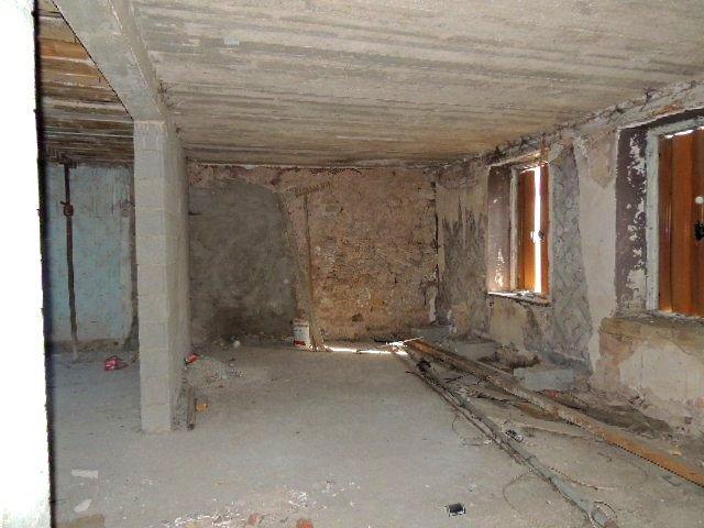 Maison en cours de restauration