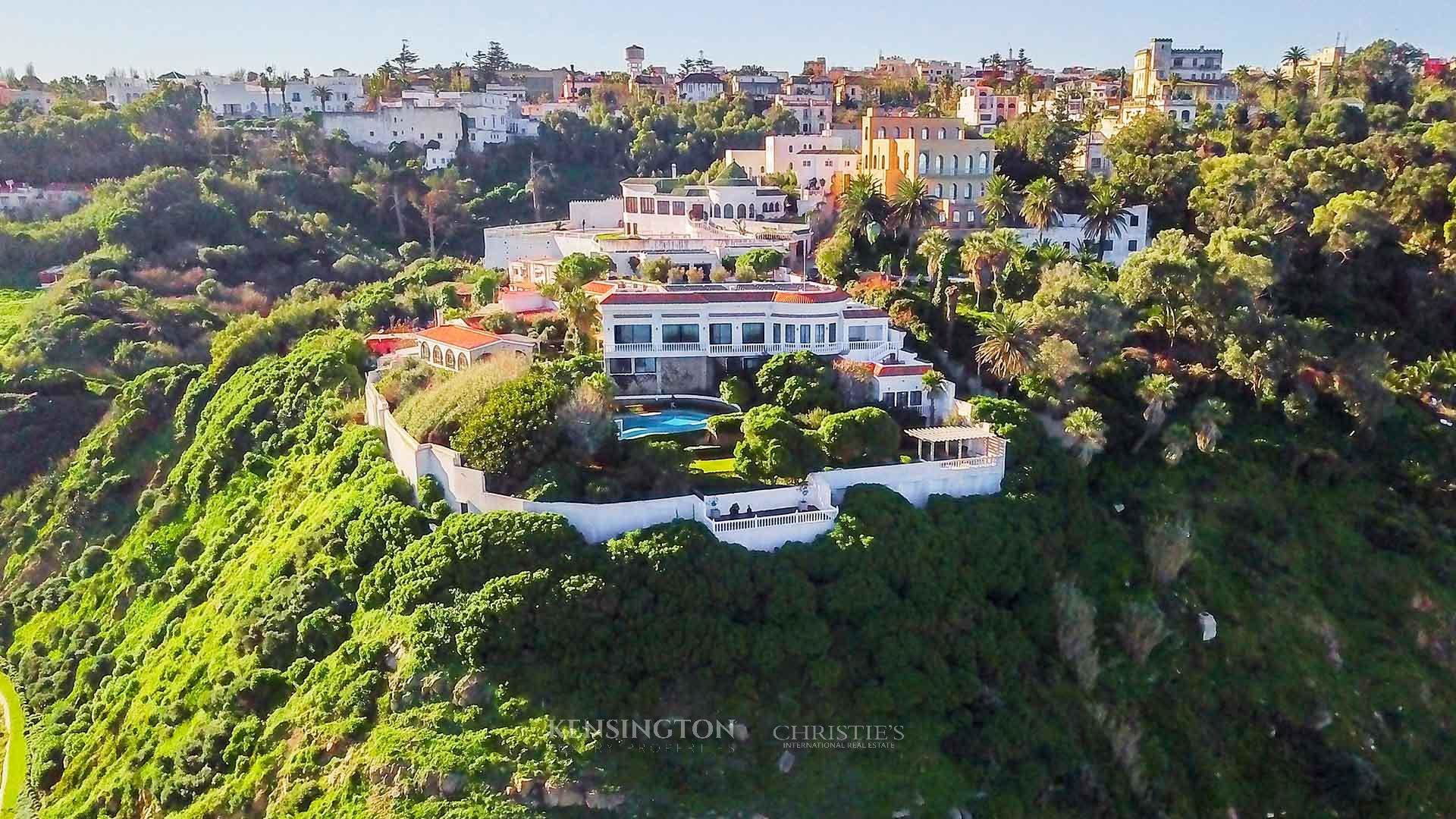 KPPM00802: El Borj Tanger Villa de luxe Tanger Maroc