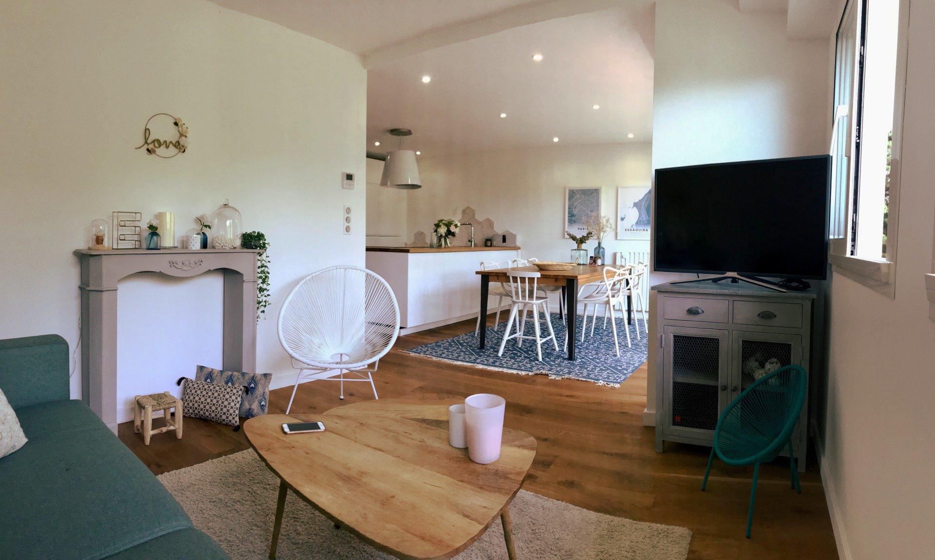 CANNES MONTFLEURY 4 rooms of 88 m2 new with balcony  600 m from the rue d'Antibes