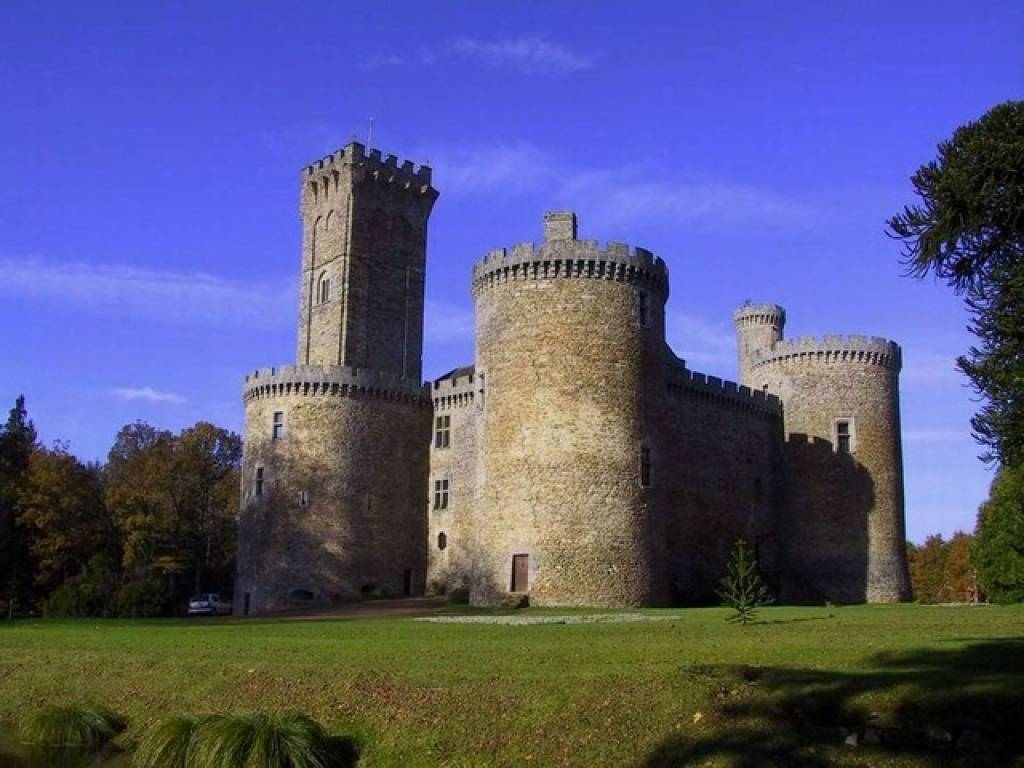 EXCEPTIONNEL CHATEAU MEDIEVAL
