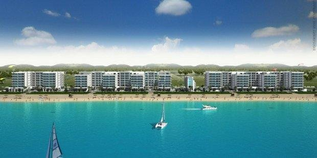 New area Gammarth Residence of new luxury all equipped with private beach at 20m