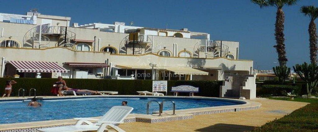 Costa Blanca La Florida duplex meublé 2 ch terrasse veranda piscine
