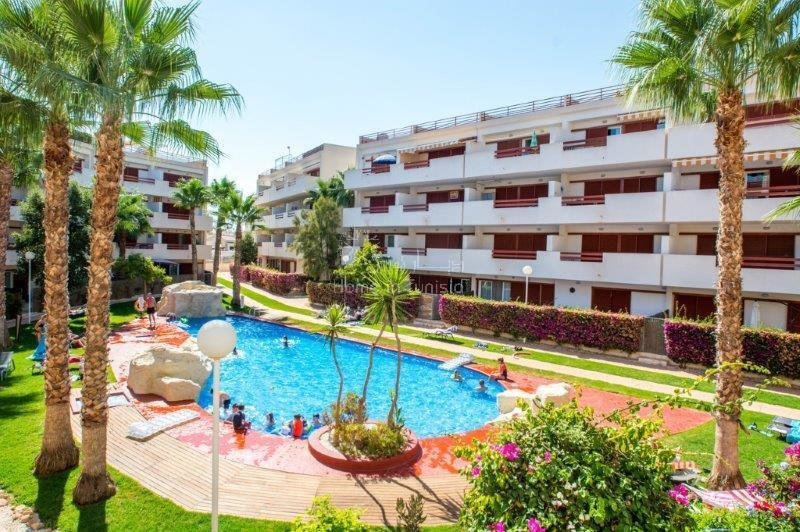 Playa Flamenca appartement meublé 2 ch parking piscine 800m plage mer
