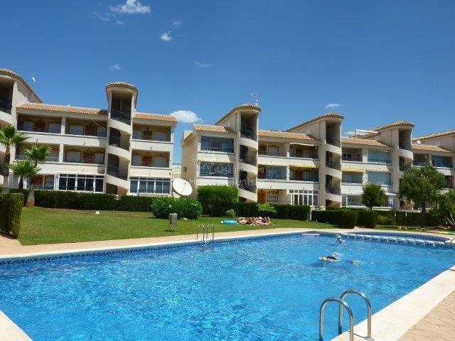 Costa Blanca Orihuela Costa appartement meuble 2 ch parking piscine vue mer