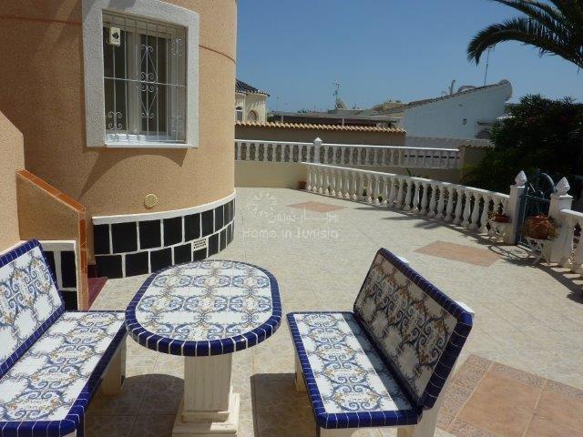 La Florida villa meublee 2 ch terrasse jardin veranda solarium
