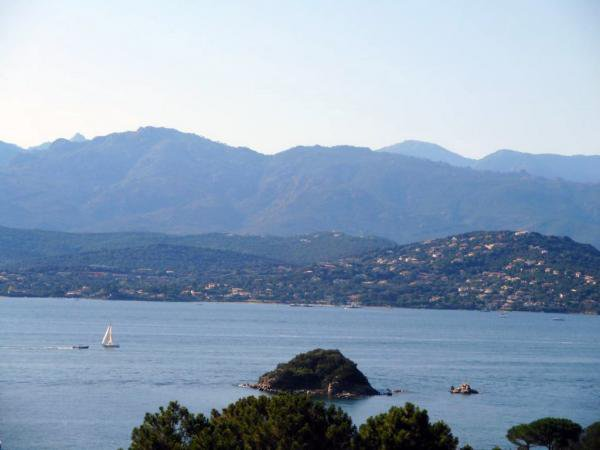 Beautiful charming property with panoramic sea view in Porto Vecchio
