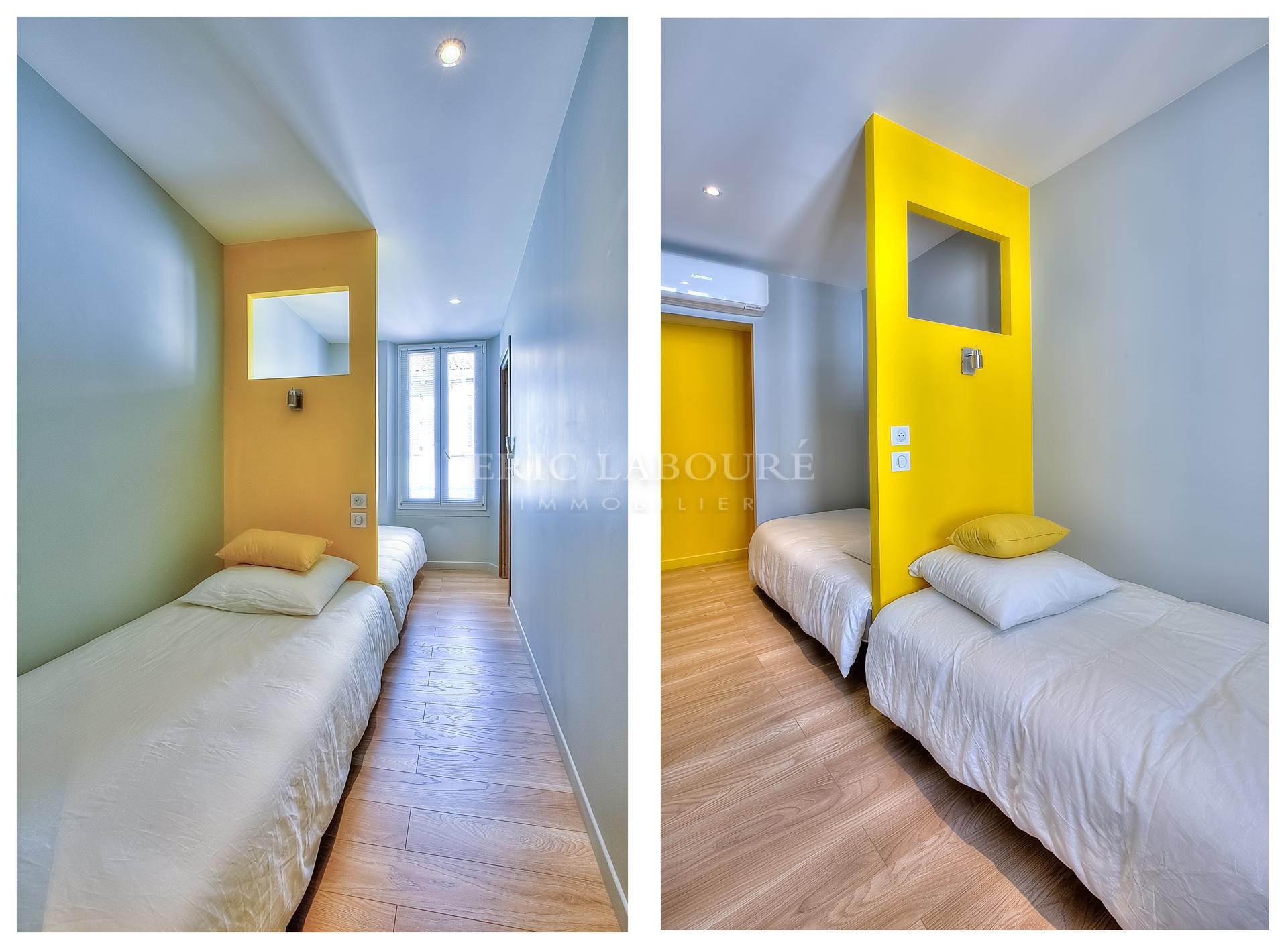 Appartement 3 pièces - 3 minutes à pied du Palais des Festivals et la Croisette - location saisonnière