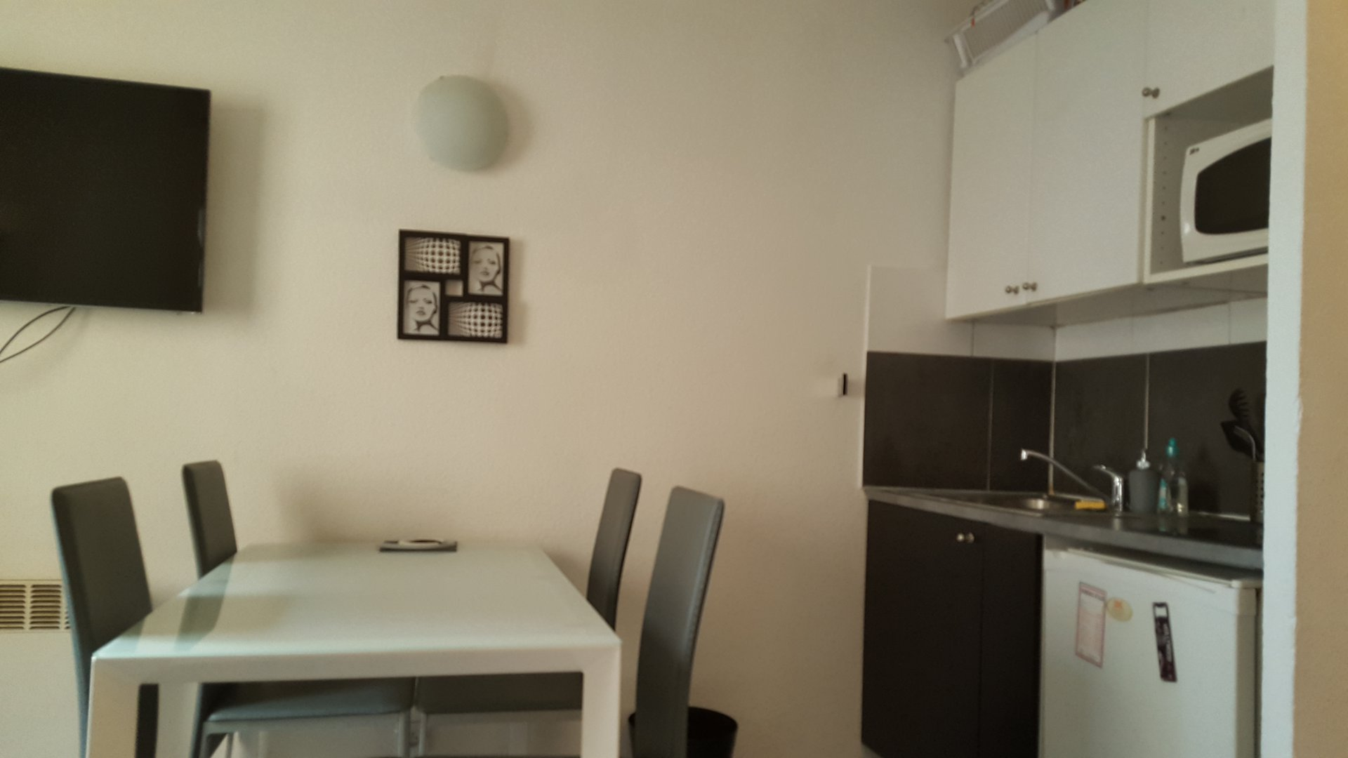 vente Nice  studio meublé  placement locatif