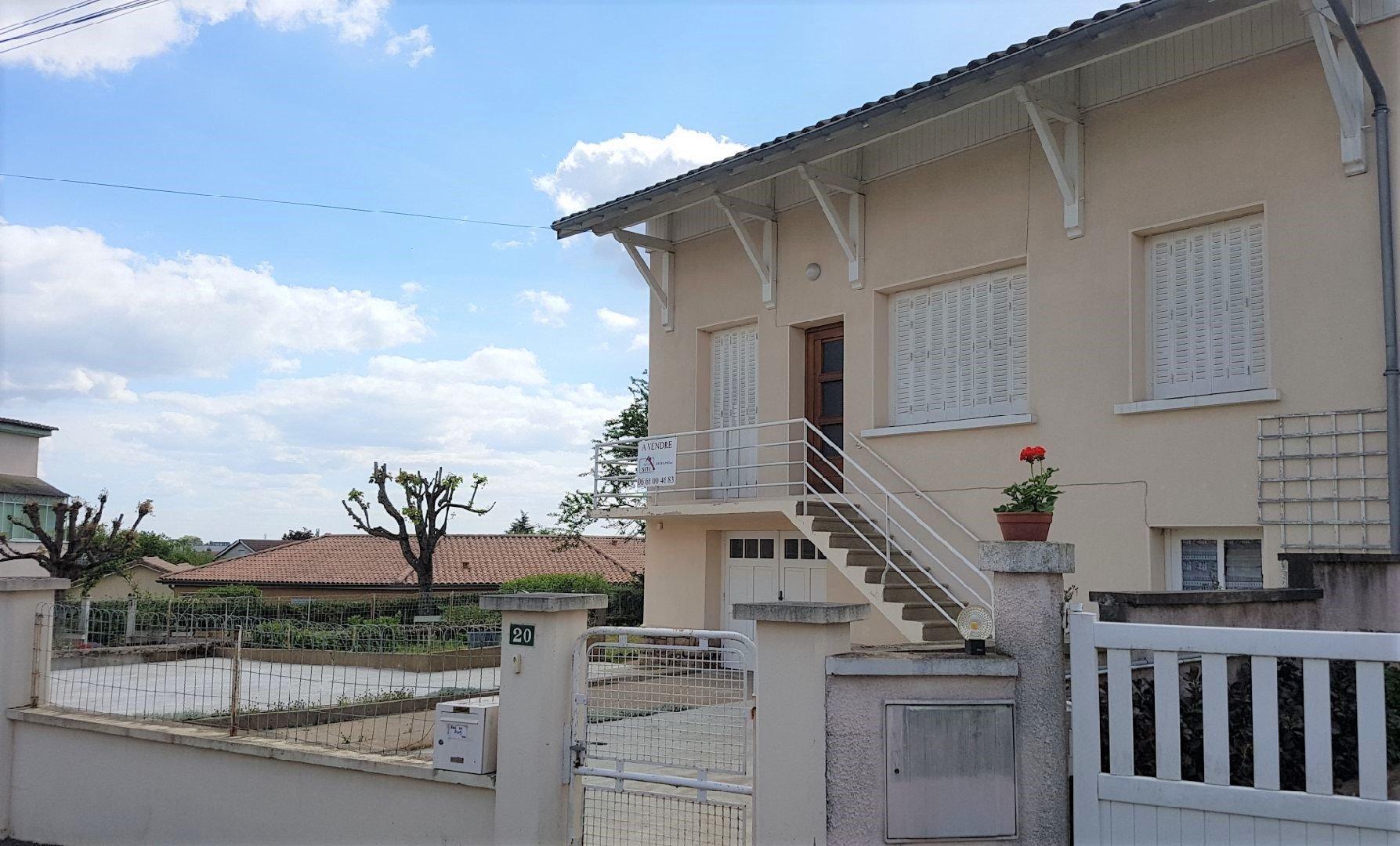 Maison 87m², jardin 427 m²