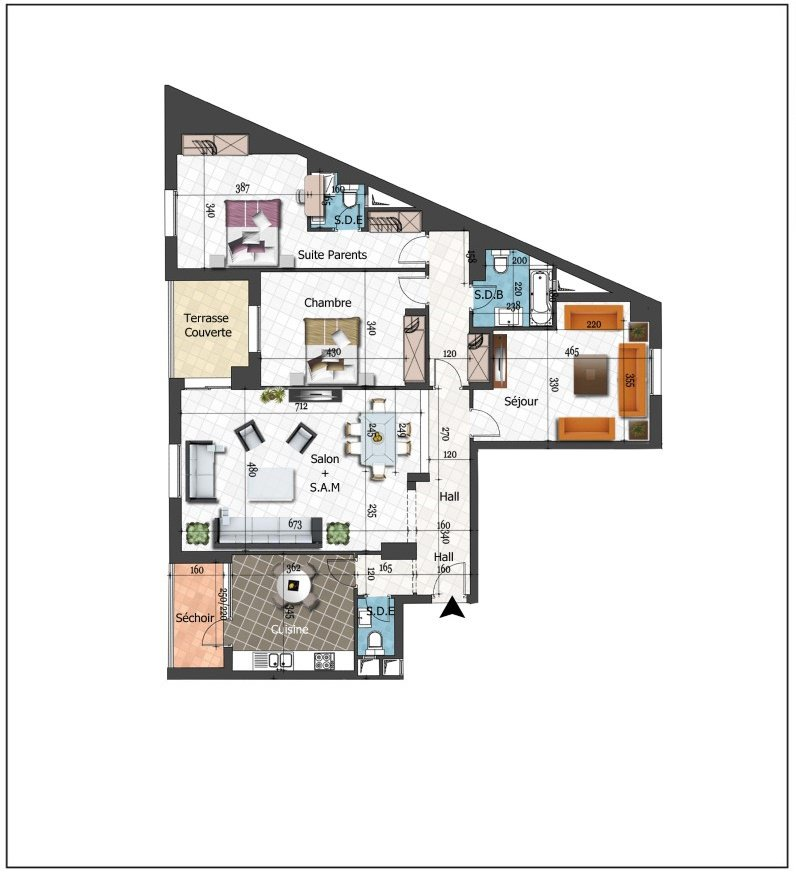 A vendre des nouveaux appartements