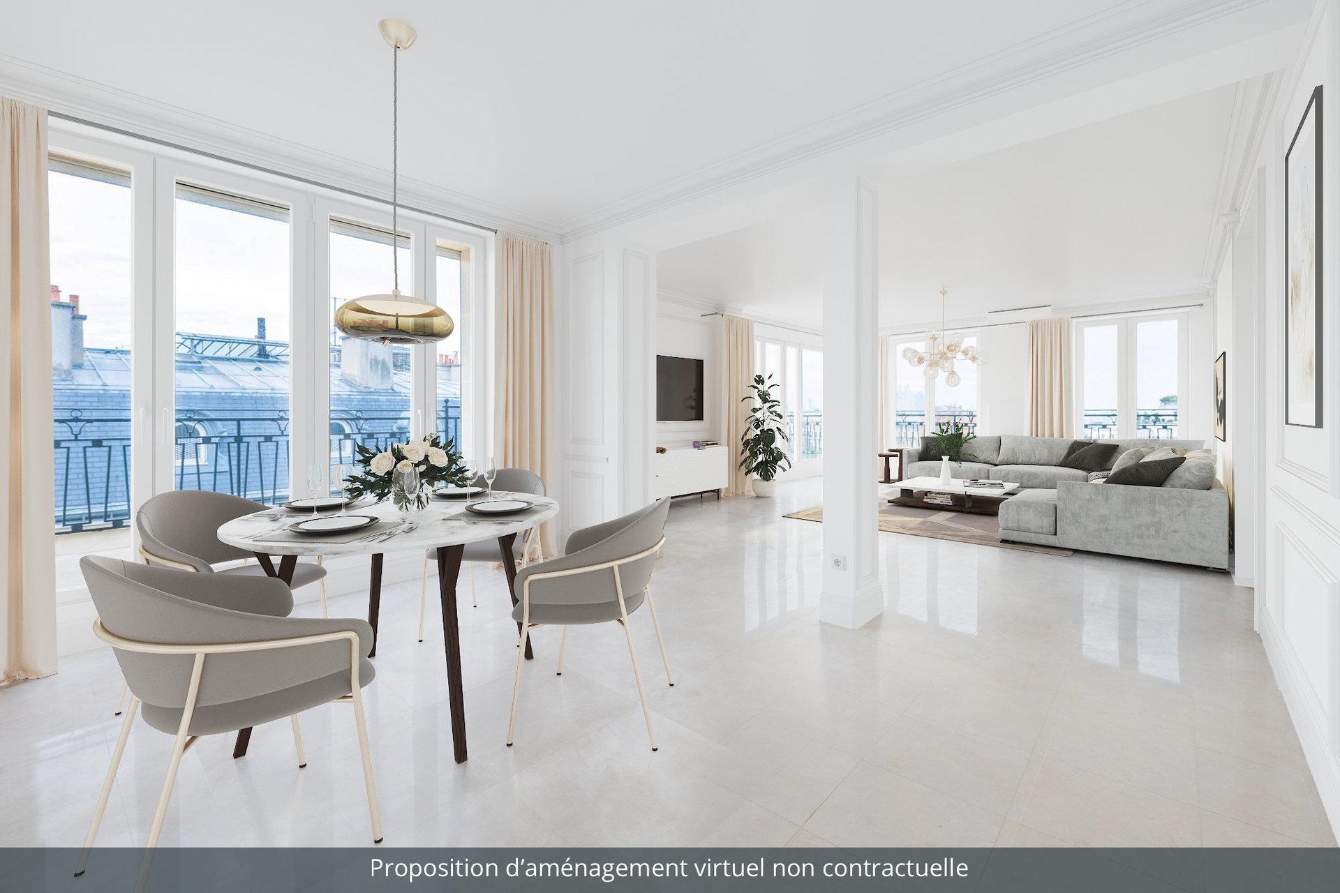 Paris view apartment