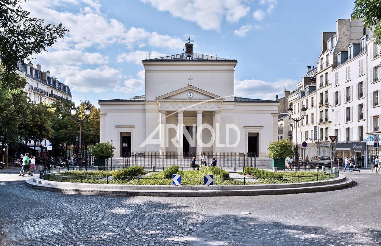 Paris 17 - Place des Batignolles