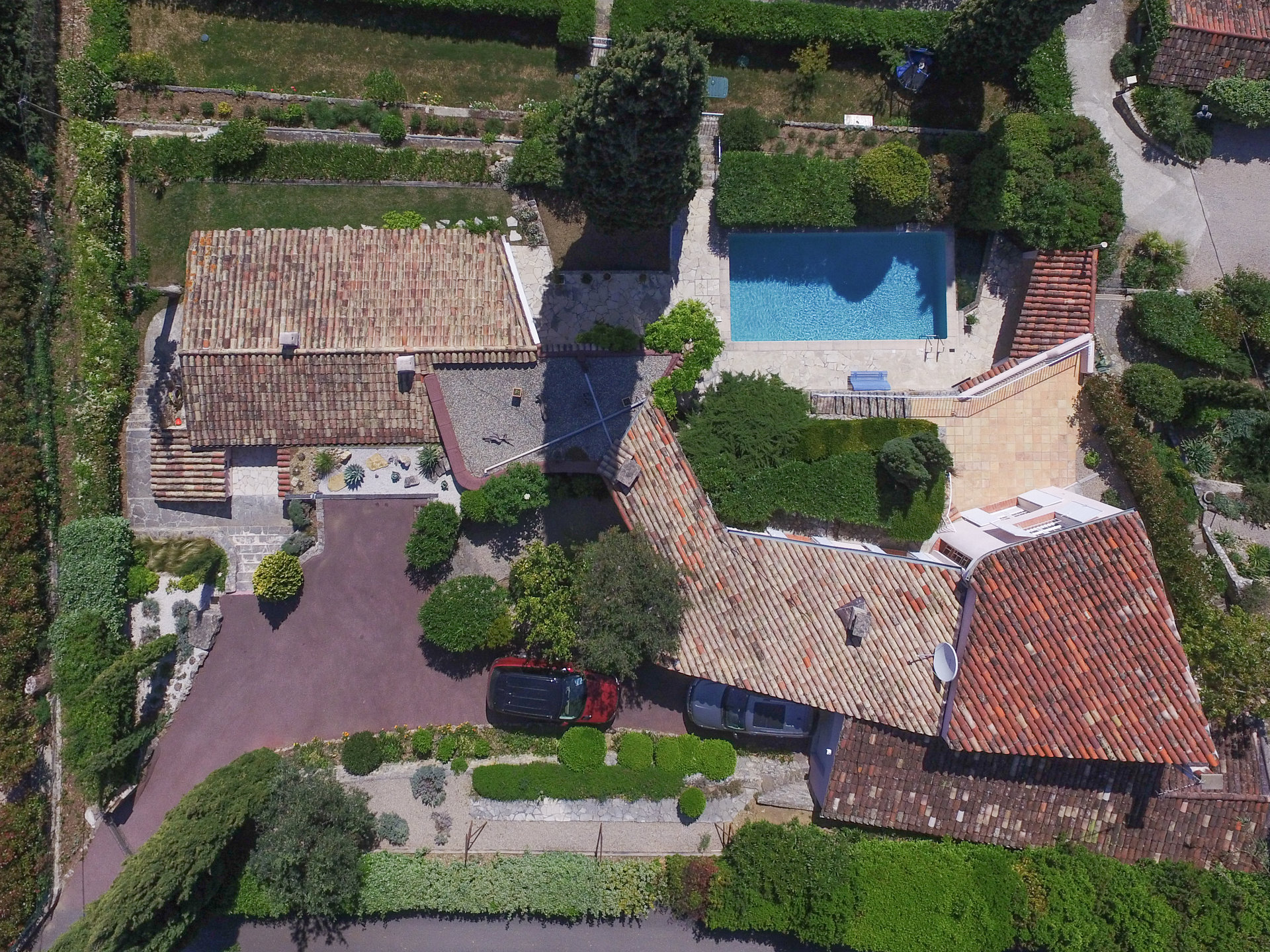 Fayence area: charming villa with stunning view