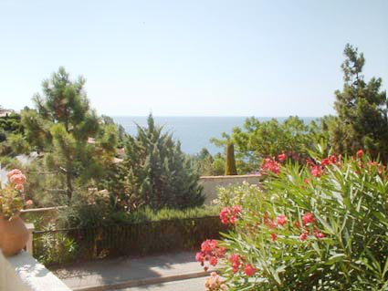 1 bed room (4-5 sleeps) terrace with sea view 5 min walking to the beach * ME 47 *